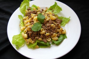 Skillet Beef And Gluten Free Noodles