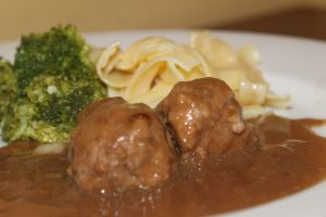 Gluten Free Swedish Meatballs