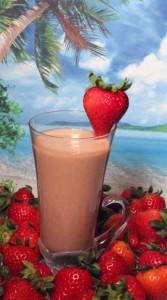 Vitamix Strawberry and Yogurt Smoothie