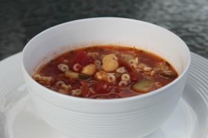 Gluten Free Easy Minestrone Soup
