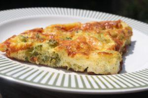 Gluten Free Broccoli Frittata