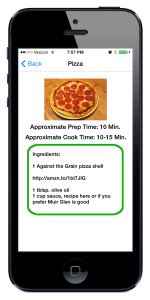 Gluten Free Recipe Book App Update
