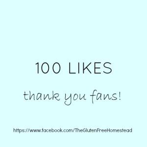 Celebrating 100 Facebook Likes!
