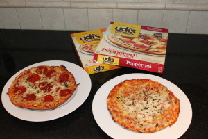 Review: Udi's Gluten Free Frozen Pizza