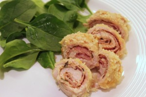 Gluten Free Turkey Cordon Bleu