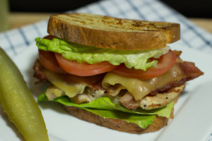 Gluten Free Turkey, Bacon, Swiss Cheese Melt