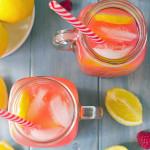sugar free sparkling raspberry lemonade pressé