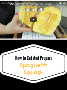 How To Cut And Prepare Spaghetti Squash The Super Easy Way