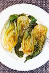 Baby Bok Choy With Sweet and Tangy Sauce