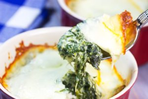 How to make Mini Spinach Pies With Cauliflower Crusts