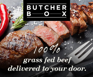 ButcherBox $10. off + Free Bacon
