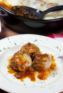 Low-Carb Meatball Parmesan For A Quick Easy Dinner